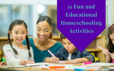 11 Fun and Education and Homeschooling Activities
