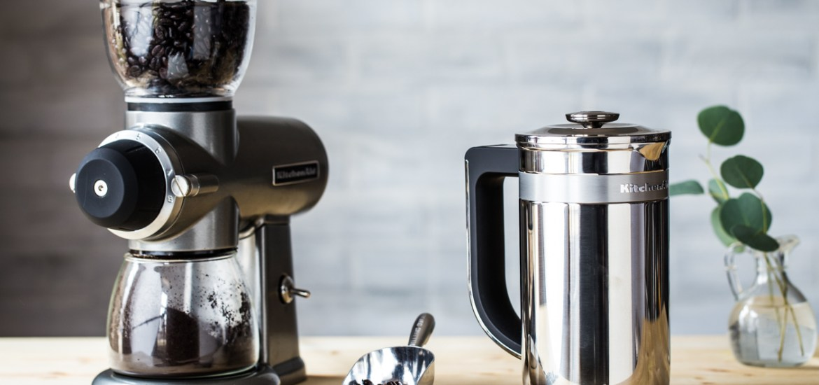 So You Like Your Coffee A Kitchenaid Burr Coffee Grinder Review