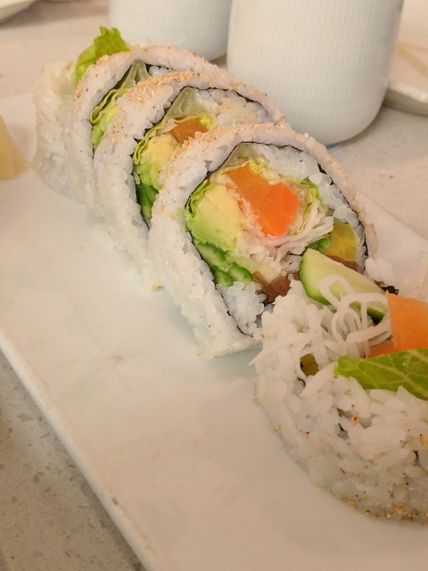 veggie roll from Satomi Sushi