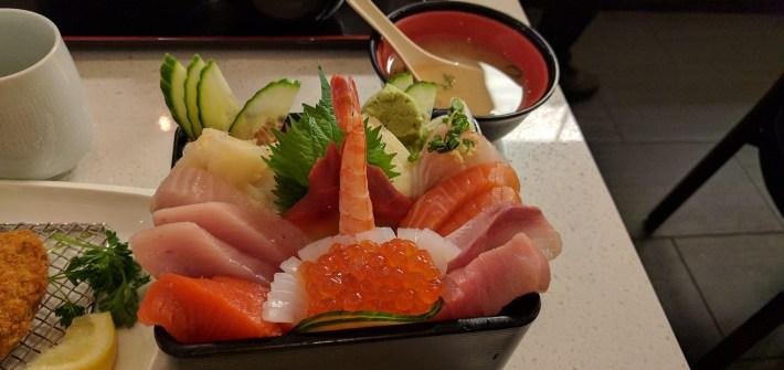 chirashi sushi from Satomi Sushi
