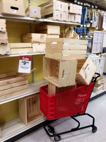 Image result for crates from michaels