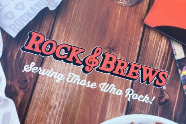 rock and brews menu