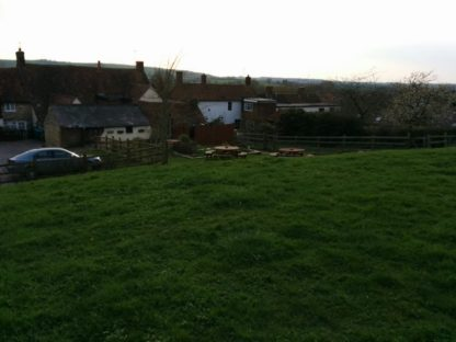 The view towards the pub from the beer garden