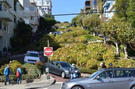 Bendiest road in San Francisco