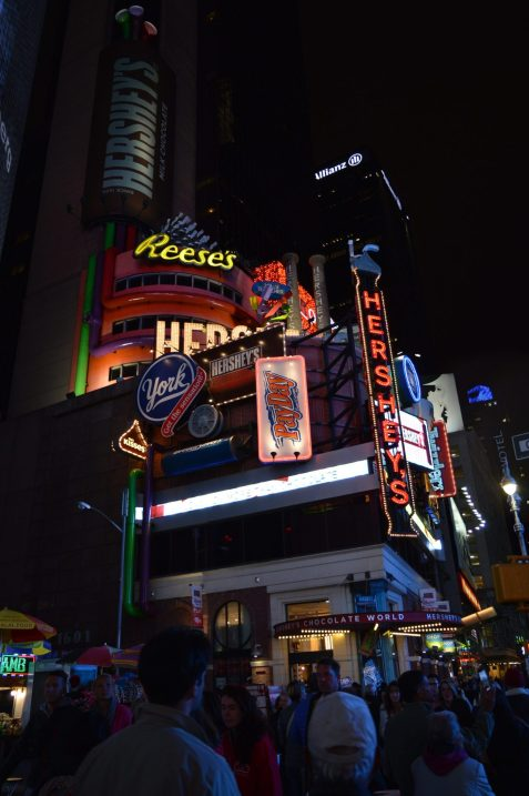 Hersheys Times Square New York