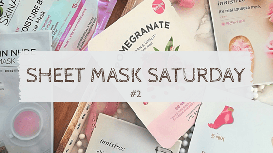Sheet Mask Saturday 2