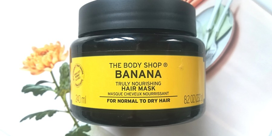 Arvostelussa Reviewing The Body Shop Banana Hair Mask Life Of Menta
