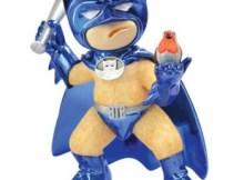 Wayne (Metallic Blue) Bad Taste Bear