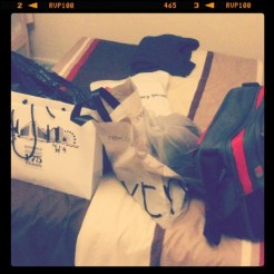 Today is all about...shopping!!!
