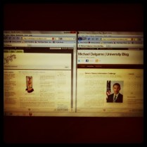 Today is all about...blogging