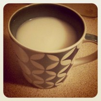 Today is all about...Horlicks and an early night. Early for me!!!