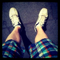 Today is all about...having my legs out in the UK public for the first time in years