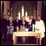 Today is all about...Sam's christening