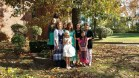 Saturday with Cathy, Diana, my mom, and some of the Children of Mary