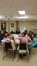 Our tea party!