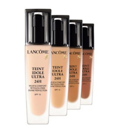 Lancome foundation and ranges