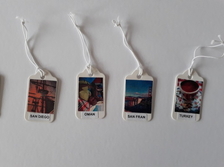travel map, travel tags, memories
