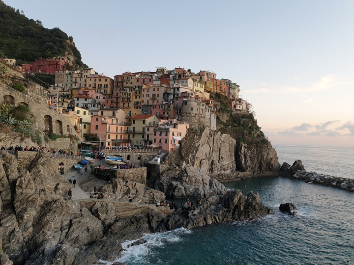 SUNSETS IN CINQUE TERRE