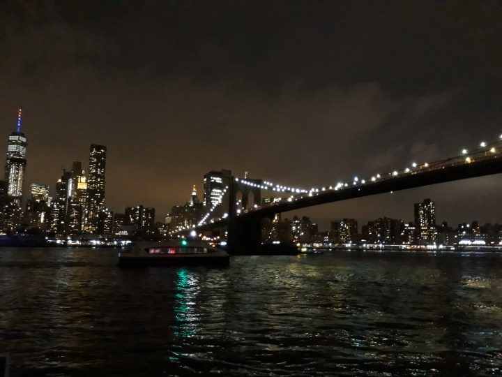 Views from Brooklyn of the New York skyline