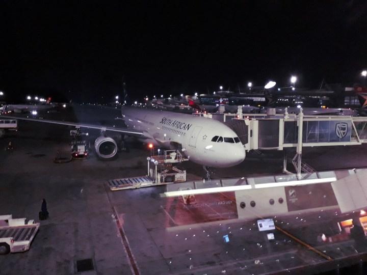 south african airways flight
