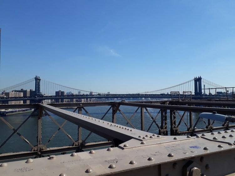 Views from Brooklyn Bridge