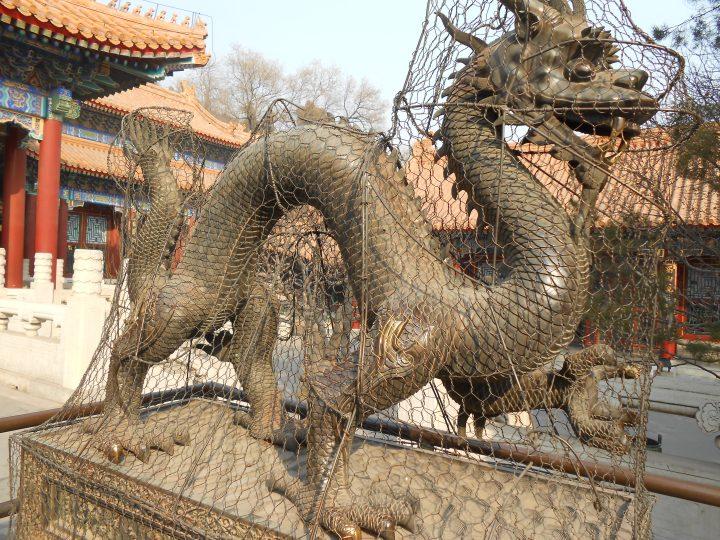 dragon at the summer palace