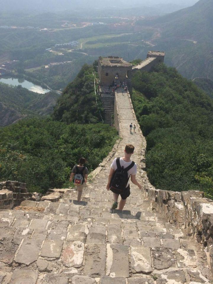 Climbing The Great Wall: Simatai