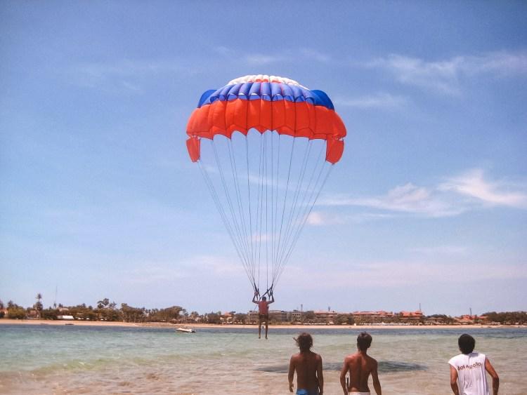 Bali, water sports