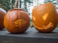 various pumpkin carving styles