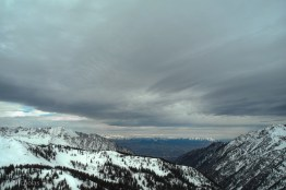 Snowbird View towards salt lake