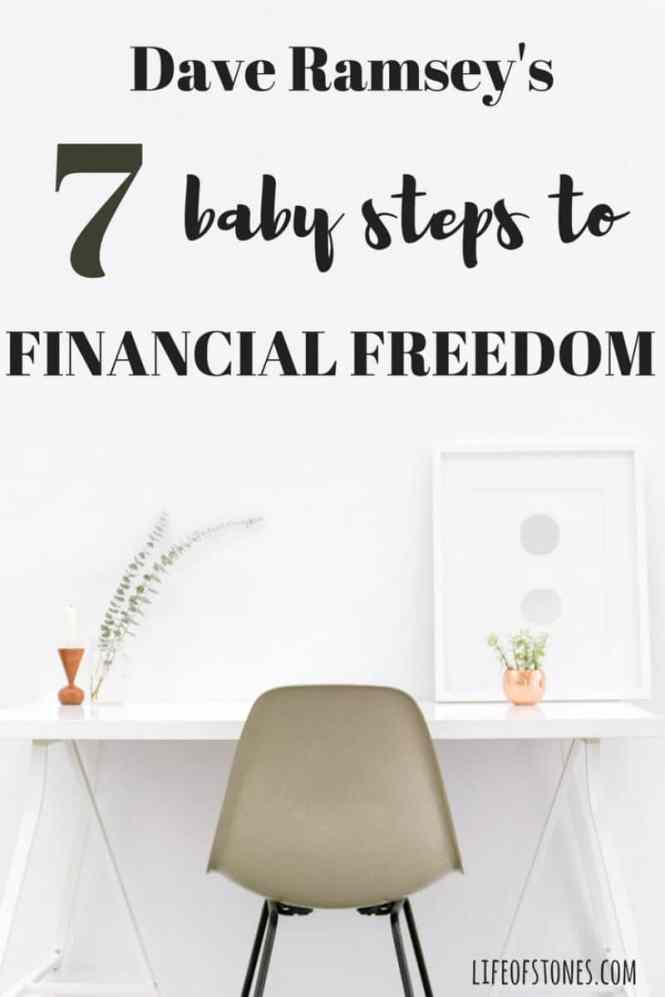 How we used Dave Ramsey's baby steps to get out of debt - Life of Stones