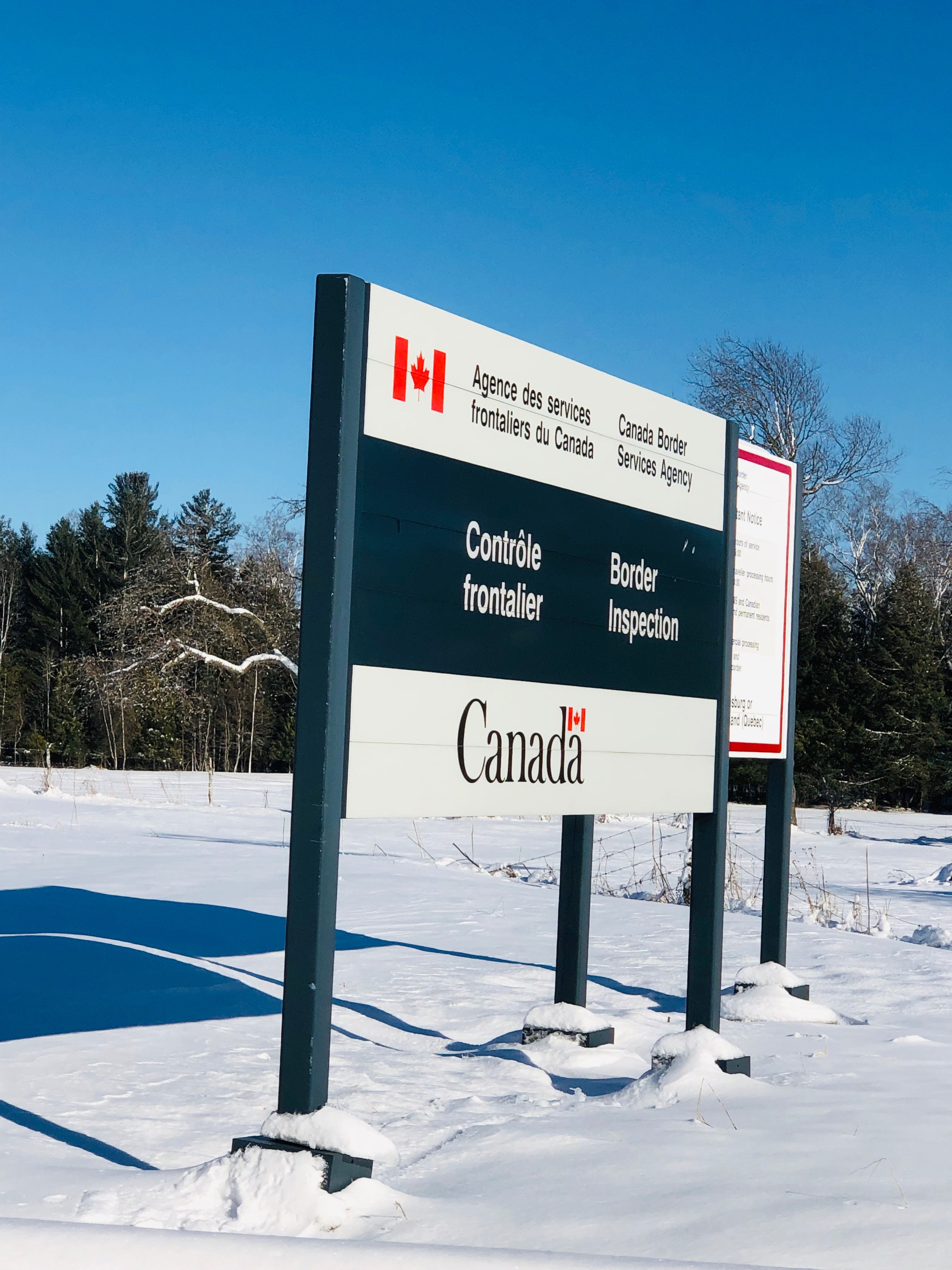 Canadian Border Experience