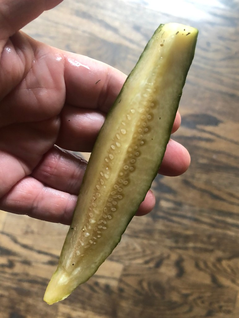 Pickles come from cucumbers, it just takes some simple ingredients to create the best spicy pickles.  The final result is just wonderful.