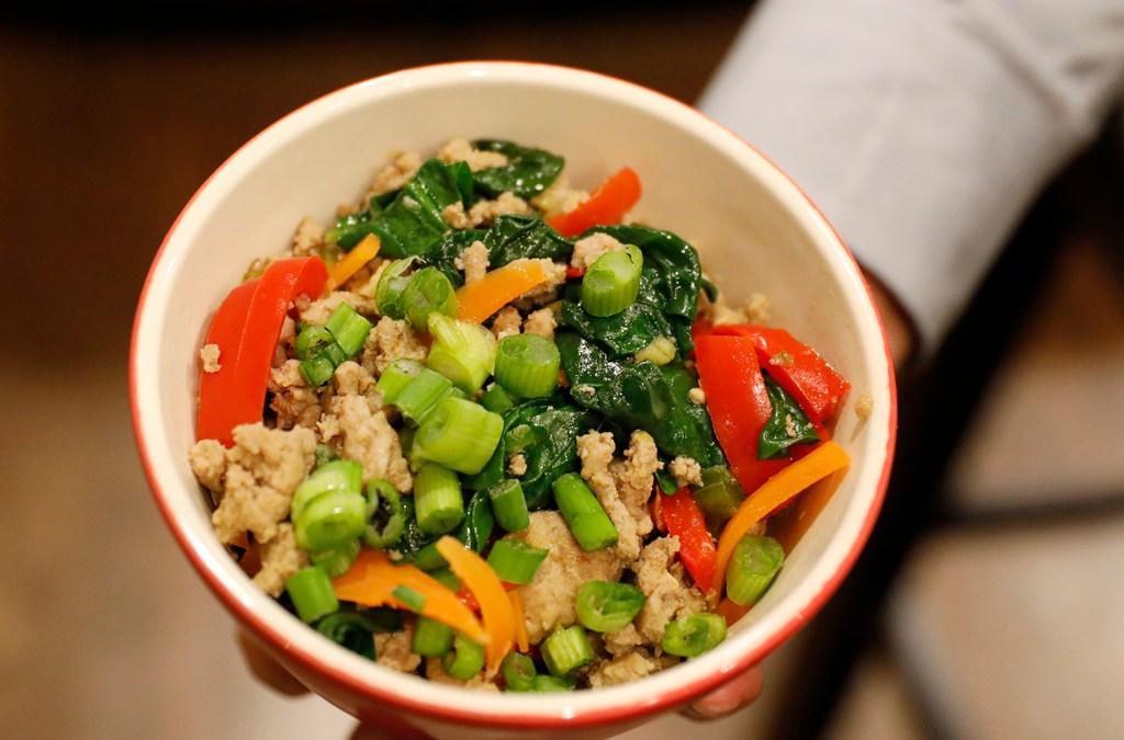 Asian Turkey Bowl fulfills all of your senses