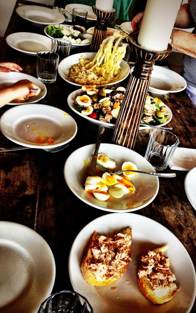 Italian family style meals