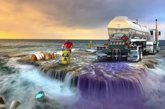 Pollution Environment Toxic Products Sea