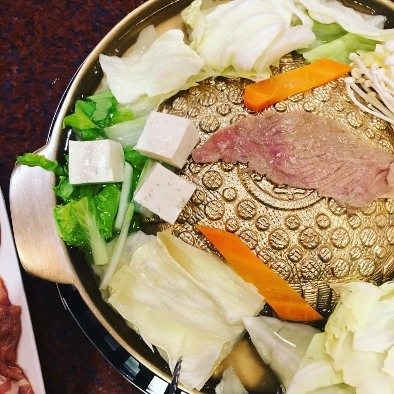 【彰化好吃火鍋】 銘谷韓國銅板烤肉 個人小火鍋 韓式料理 好吃小火鍋