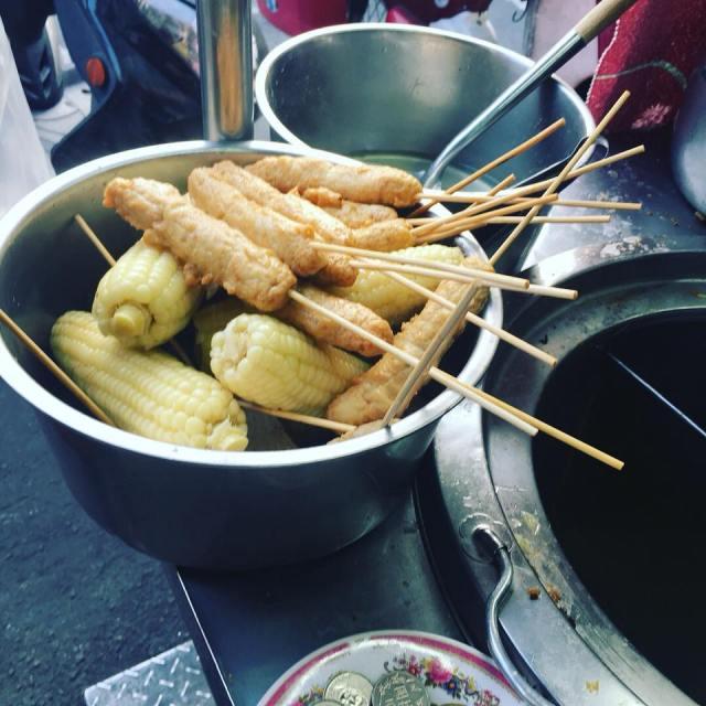 彰化下午茶 永安街鐵路旁刈包 關東煮 魯味 銅板美食