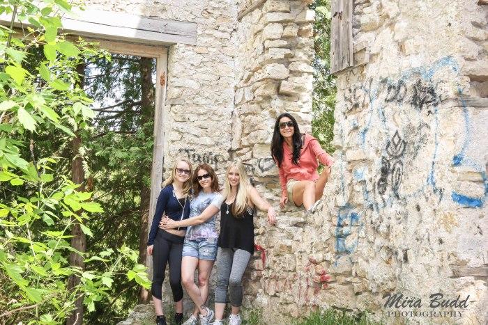 Mills in Ontario, Ontario Mill Ruins, Old Mills in Ontario, Elora Mill Ruins, Things to see in Ontario, Things to See in Elora,
