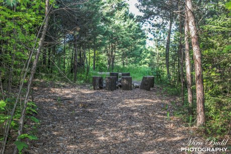 Hiking Trails in Ontario, Things to see in Caledon, Fire Pit, Alton Pinnacle Loop Trail