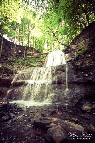 Waterfalls Along The Bruce Trail, Hiking Ontario, Beautiful Places in Ontario, Waterfalls in Ontario, Hamilton Waterfalls, Sherman Falls,