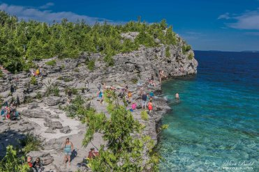 The Bruce Trail, Indian Head Cove Bruce Peninsula
