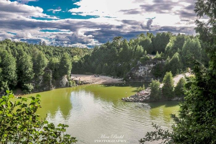 Elora Quarry, Elora Quarry Conservation Area, Beautiful Places in Ontario,