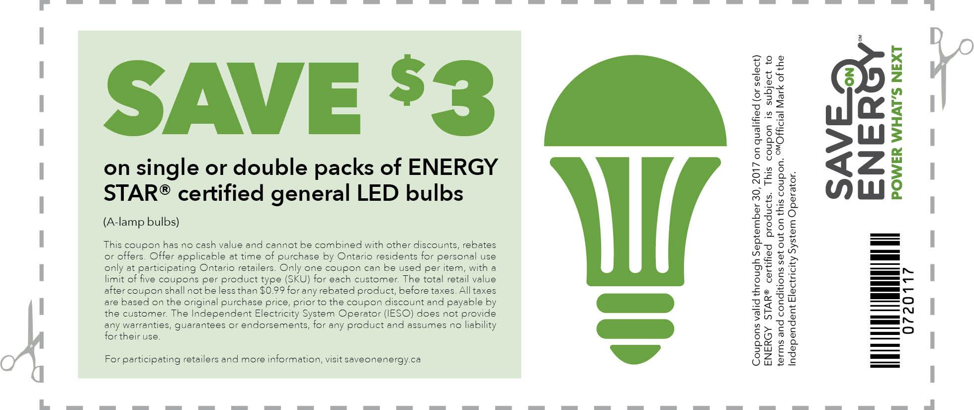 led light coupon canada