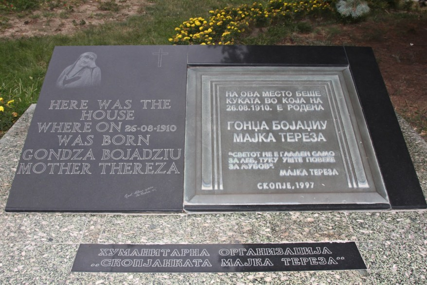 Mother Teresa Monument, Things to See in Macedonia, Places to Visit in Macedonia, Skopje Macedonia,