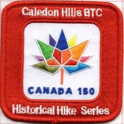 Hiking Badge, Ontario Hiking Trails, Bruce Trail Hiking,