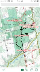 Bruce Trail Map
