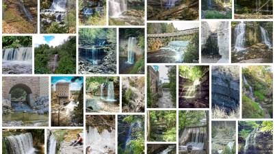 Waterfalls in Ontario, Best Ontario waterfalls,