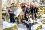 Women Hiking Group, Ontario Hiking Trails, Hilton Falls Side Trail, Bruce Trail Side Trails,