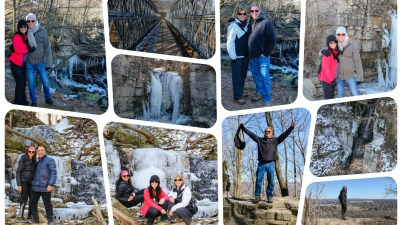 Ontario, Waterfalls, Hiking, Trails, Group, Hamilton,